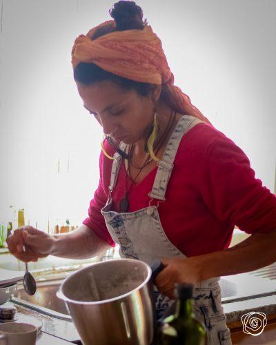"""Aula Culinária do Curso Online """"Transformação Sátvica"""""""